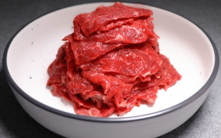 Thick sliced Red meat( bolar , knuckle) 500g